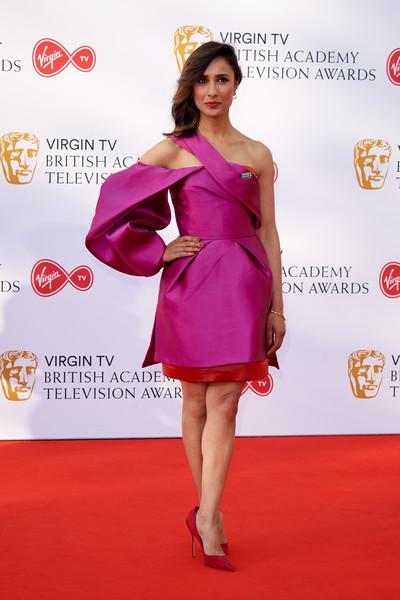 Anita Rani - 2018 BAFTA TV Ödülleri Kırmızı Halı