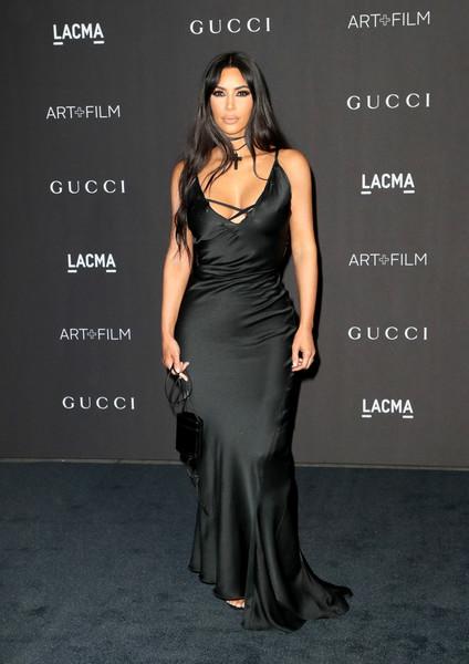 Kim Kardashian - 2018 LACMA Art + Film Gala Kırmızı Halı