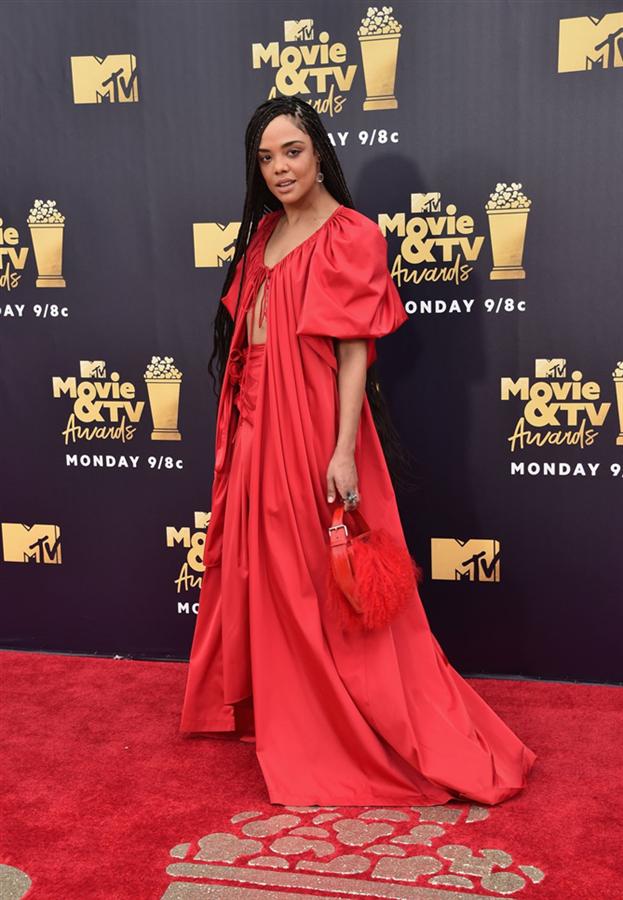 Tessa Thompson - 2018 MTV Film Ödülleri Kırmızı Halı