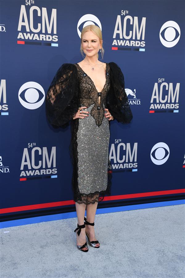 Nicole Kidman - 2019 ACM Ödülleri'nin Dikkat Çeken Kırmızı Halı Görünümleri