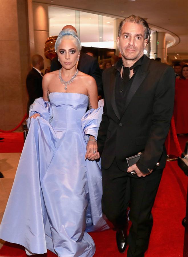 Lady Gaga- Christian Carino  - 2019 Altın Küre Ödüllerine Damga Vuran Çiftler