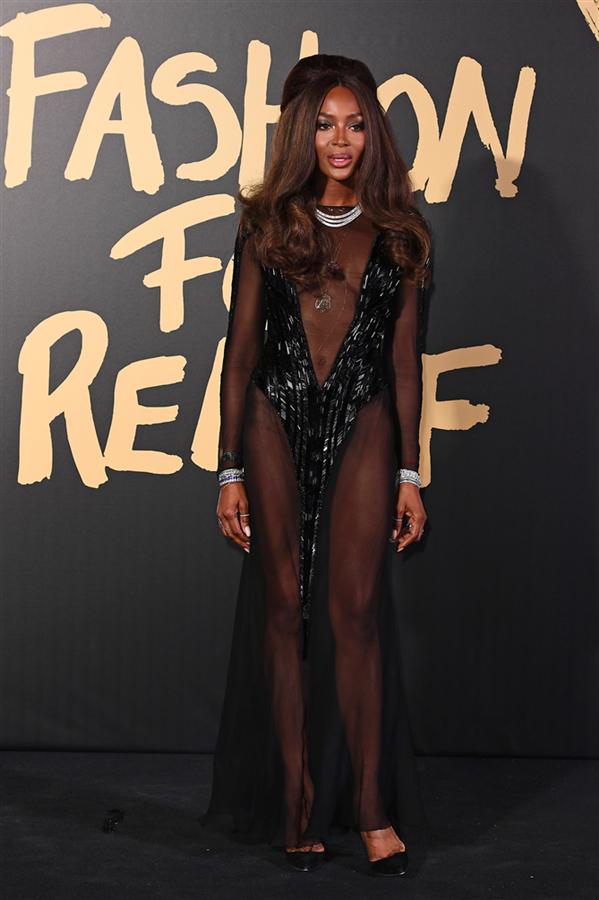 Naomi Campbell - 2019 Fashion For Relief Defilesinin Ünlü Davetlileri Göz Kamaştırdı