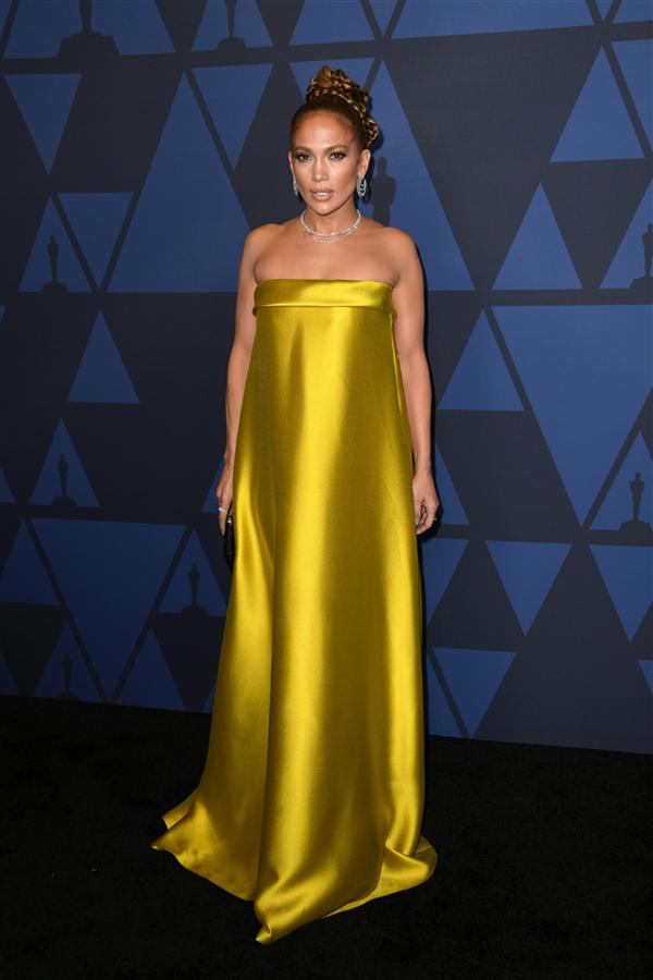 Jennifer Lopez - 2019 Governors Ödülleri'ne Damga Vuran Elbiseler