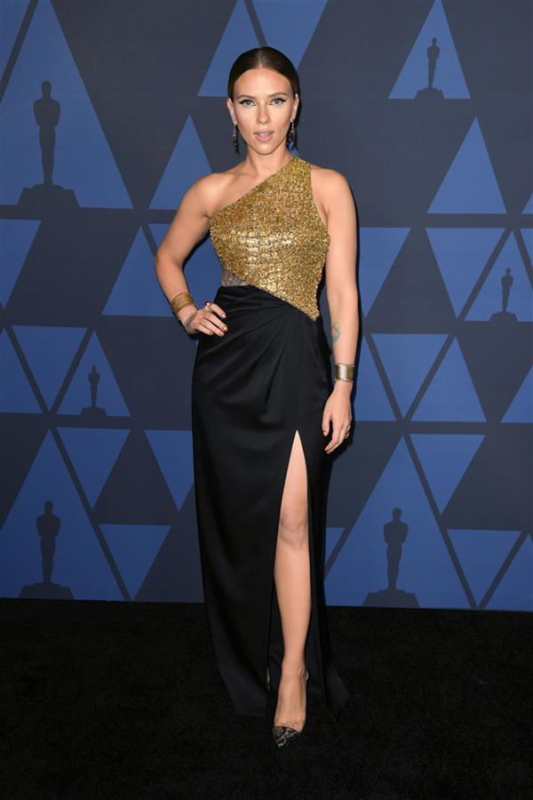 Scarlett Johansson - 2019 Governors Ödülleri'ne Damga Vuran Elbiseler