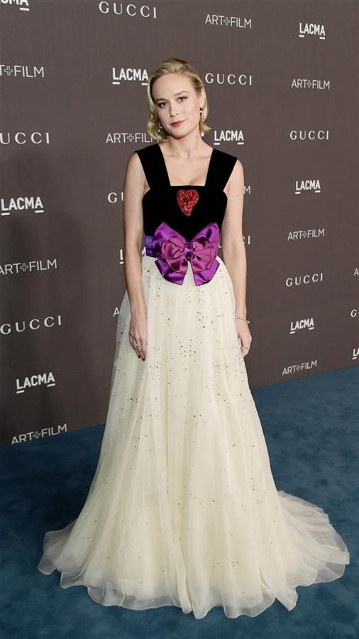 Brie Larson - 2019 LACMA Art + Film Gala'nın Öne Çıkan Stil Görünümleri