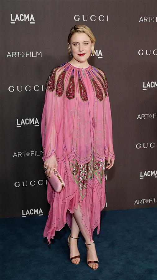 Greta Gerwig - 2019 LACMA Art + Film Gala'nın Öne Çıkan Stil Görünümleri