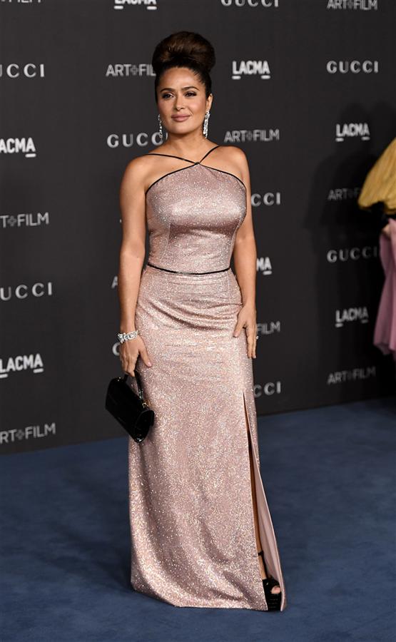 Salma Hayek - 2019 LACMA Art + Film Gala'nın Öne Çıkan Stil Görünümleri