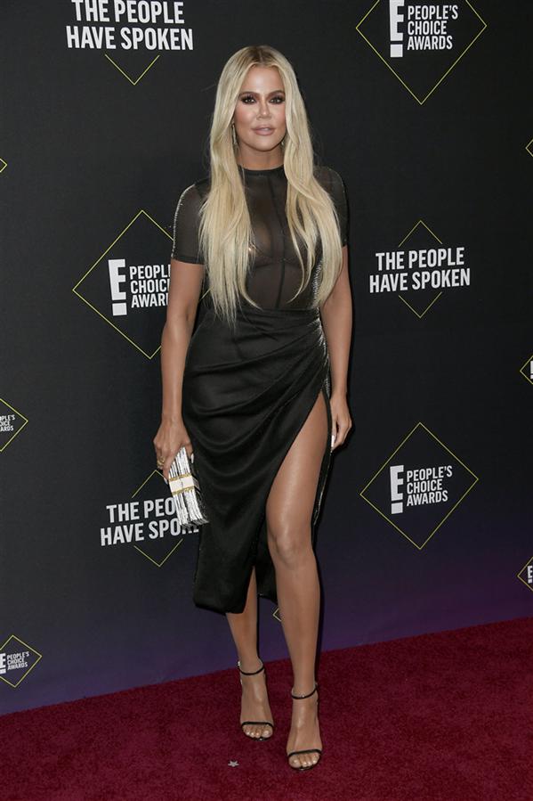 Khloé Kardashian - 2019 People's Choice Ödülleri'nin Dikkat Çeken Kırmızı Halı Görünümleri