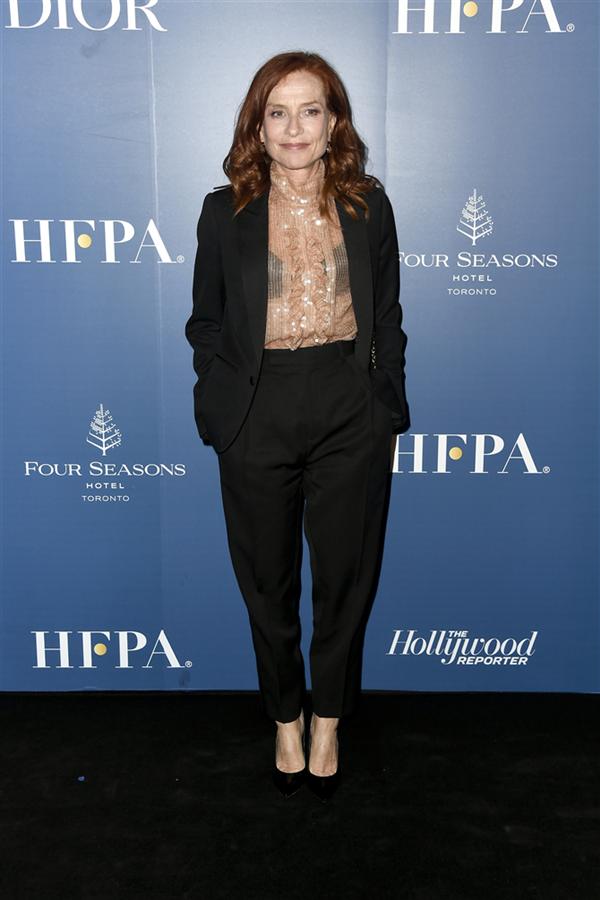 Isabelle Huppert - 2019 Toronto Film Festivali'nden Dikkat Çeken Stil Görünümleri