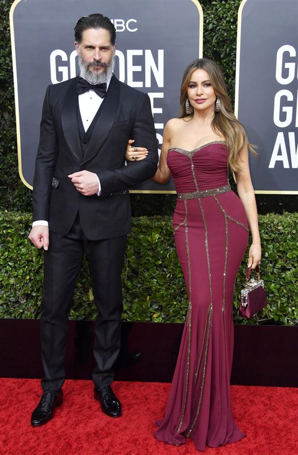 Sofía Vergara ve Joe Manganiello - 2020 Altın Küre Ödülleri'nin Kalp Çalan Uyumlarıyla Kırmızı Halı Çiftleri