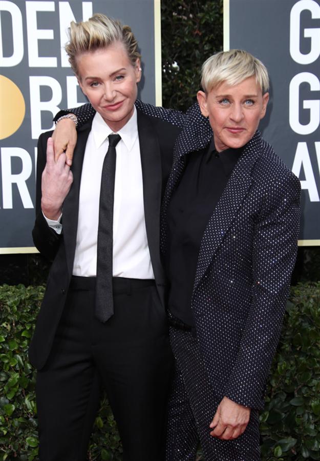 Portia de Rossi ve Ellen DeGeneres