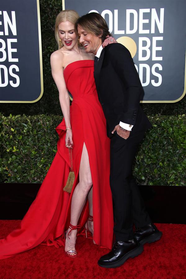 Nicole Kidman ve Keith Urban - 2020 Altın Küre Ödülleri'nin Kalp Çalan Uyumlarıyla Kırmızı Halı Çiftleri