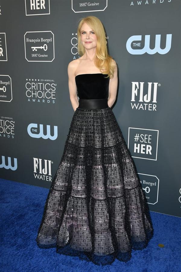 Nicole Kidman - 2020 Critics' Choice Ödülleri'nin Öne Çıkan Kırmızı Halı Elbiseleri