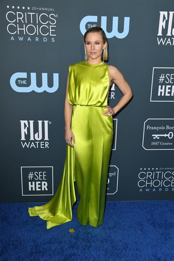 Kristen Bell - 2020 Critics' Choice Ödülleri'nin Öne Çıkan Kırmızı Halı Elbiseleri