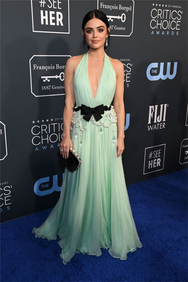 Lucy Hale - 2020 Critics' Choice Ödülleri'nin Öne Çıkan Kırmızı Halı Elbiseleri