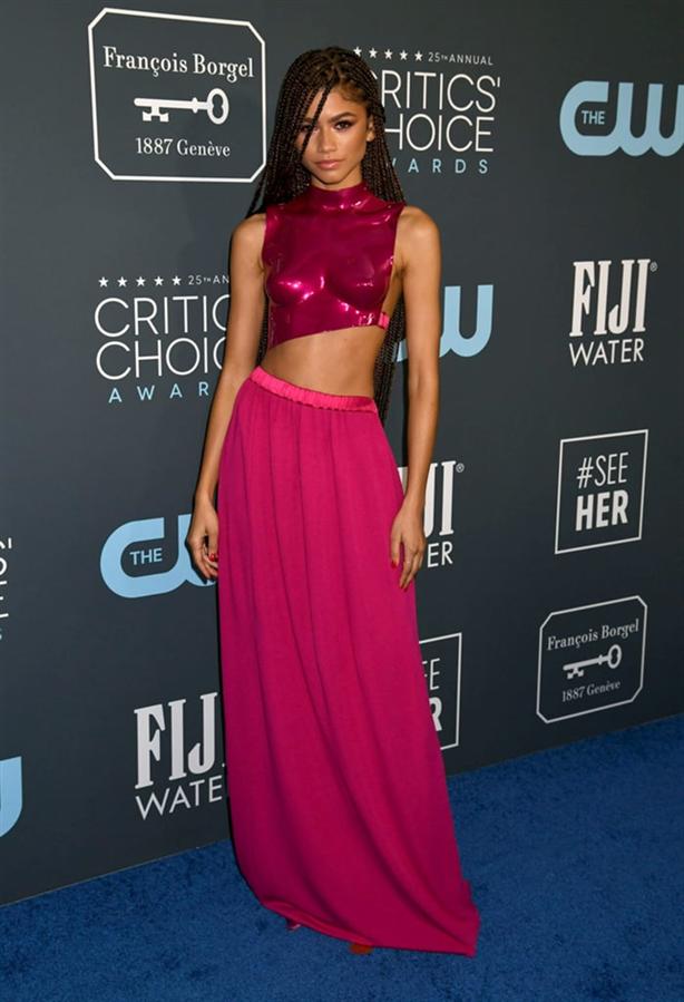 Zendaya - 2020 Critics' Choice Ödülleri'nin Öne Çıkan Kırmızı Halı Elbiseleri