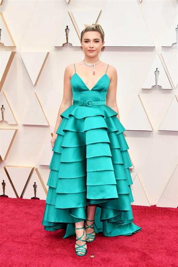 Florence Pugh - 2020 Oscar Ödül Töreni'nin En İyi Kırmızı Halı Görünümleri