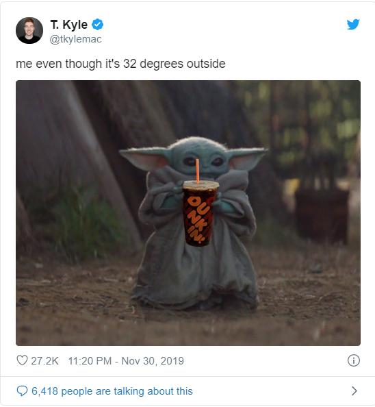 2020'nin Yeni İnternet Yıldızı Baby Yoda Hakkındaki En Eğlenceli Postlar