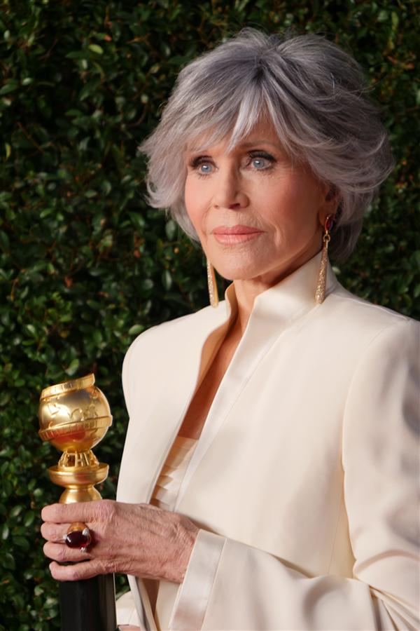Jane Fonda - 2021 Altın Küre Ödülleri'nin Öne Çıkan Mücevherleri