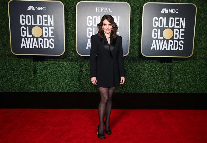 Tina Fey - 2021 Altın Küre Ödülleri'nin Öne Çıkan Mücevherleri
