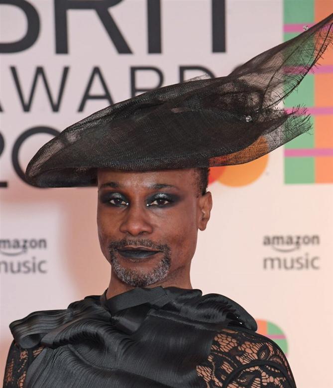 Billy Porter - 2021 BRIT Ödülleri'nin Öne Çıkan Güzellik Görünümleri