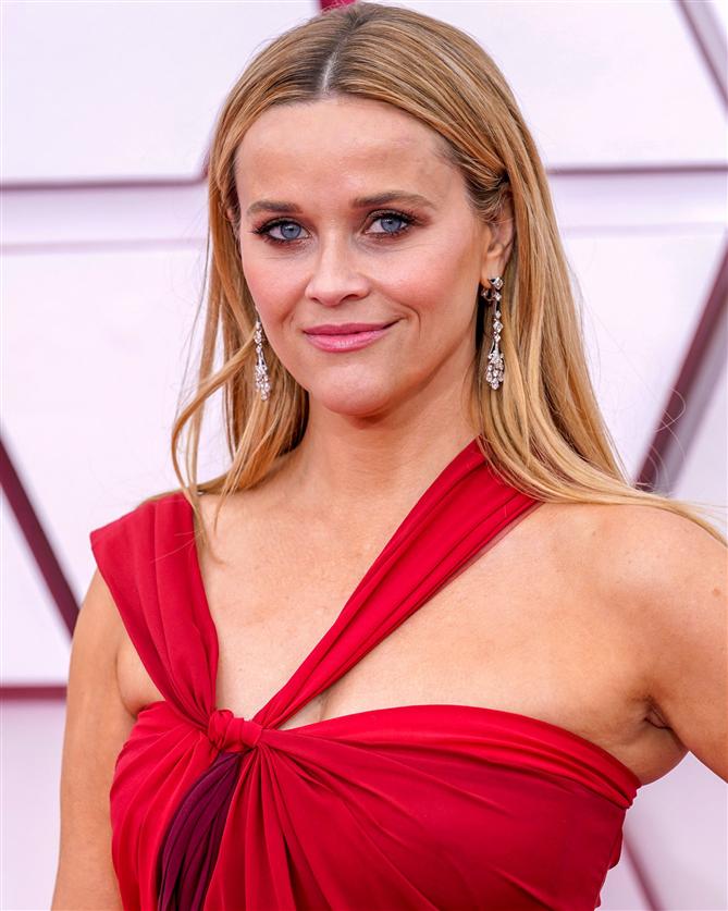 Reese Witherspoon - 2021 Oscar Ödülleri'nin Öne Çıkan Güzellik Görünümleri