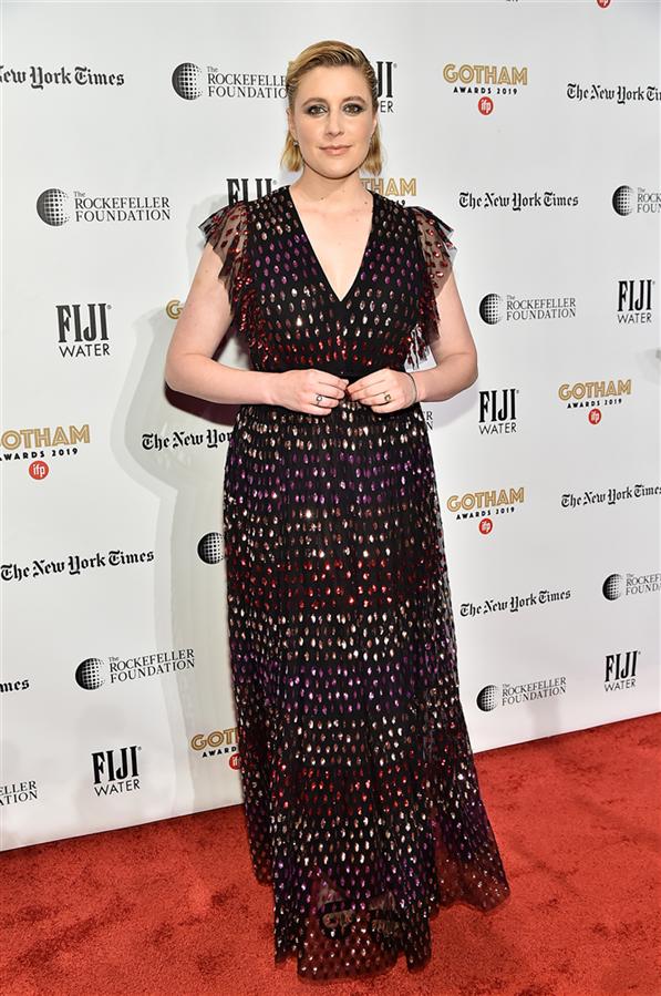 Greta Gerwig - 29. Gotham Bağımsız Film Festivali Ödülleri'nin Kırmızı Halı Görünümleri