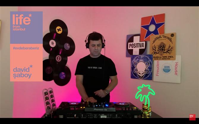 50'den fazla Türk DJ Life From Istanbul Çatısı Altında Buluştu - 50'den fazla Türk DJ Life From Istanbul Çatısı Altında Buluştu