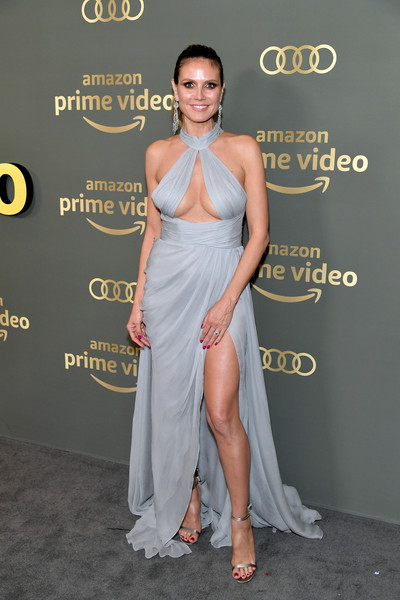 Heidi Klum - Altın Küre Ödülleri Sonrası Parti Stilleri