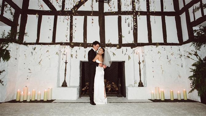 Ariana Grande'nin İlham Verici Düğünü