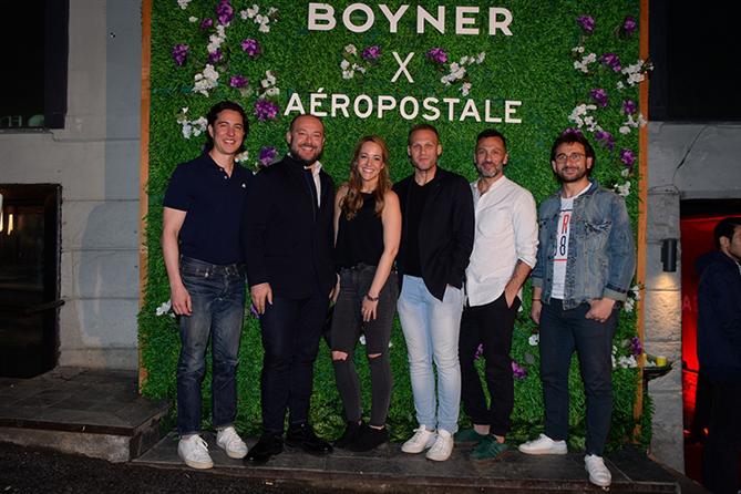 Aéropostale Markasının Türkiye'deki Yolculuğu Özel Bir Partiyle Başladı - Aéropostale Markasının Türkiye'deki Yolculuğu Özel Bir Partiyle Başladı