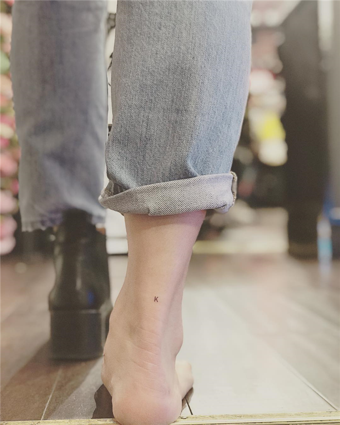Ayak Bileklerinize Çok Yakışacak 7 Dövme Modeli