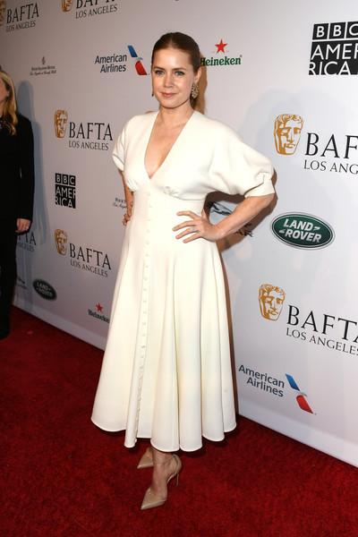 Amy Adams - BAFTA Davetinde Şıklık Yarışı