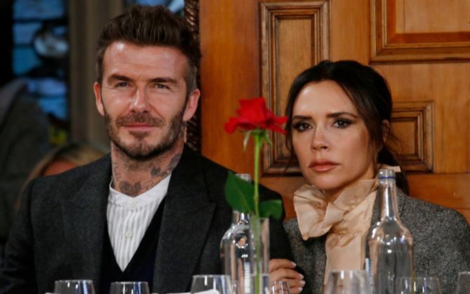 Beckham Çiftinin Kıskandıran Uyumu
