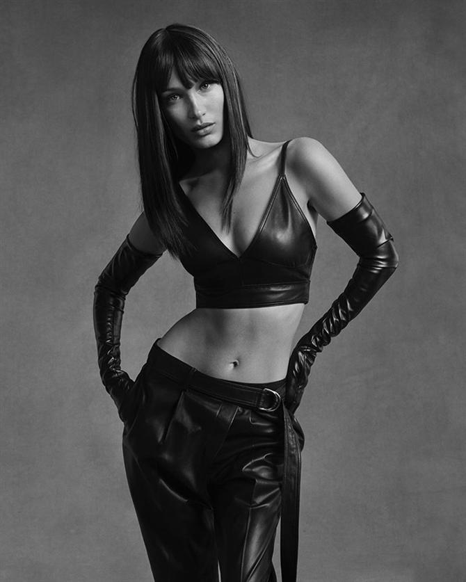 Bella Hadid İle Helmut Lang Pre-Fall 2020 Kampanyasından Etkileyici Kareler