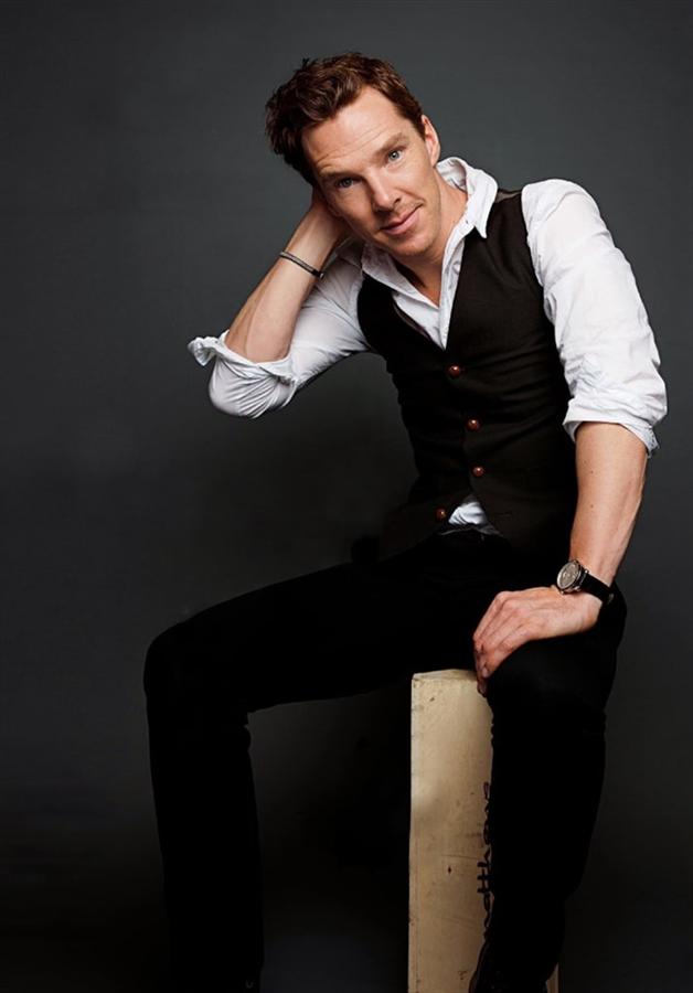 Benedict Cumberbatch Kadın Oyuncuların Yanında