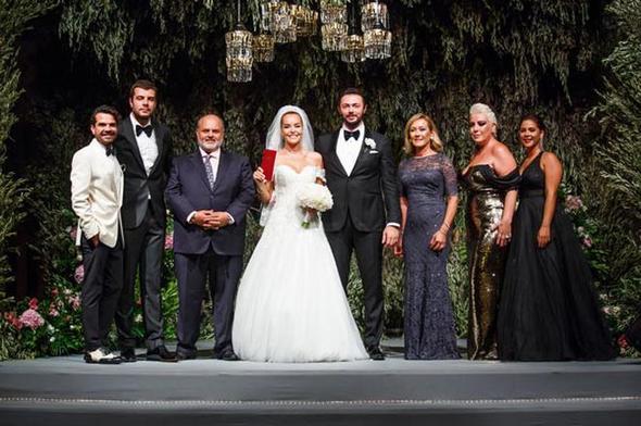Bengü ve Selim Selimoğlu evlendi