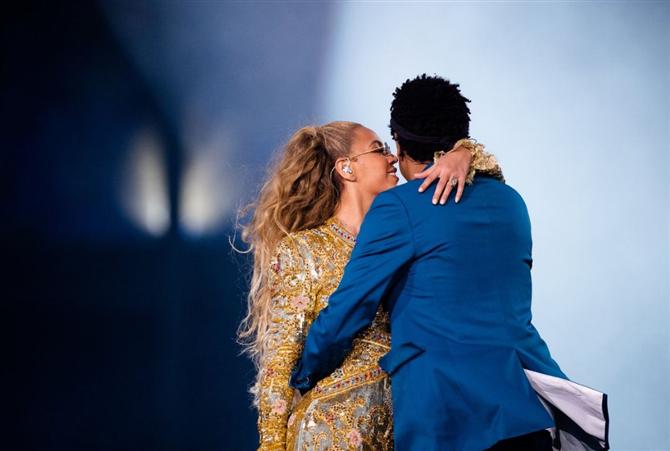 Beyonce ve Jay Z Yatakta - Beyonce ve Jay Z Yatakta
