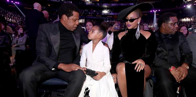 Beyonce'un Grammydeki Asil Şıklığı