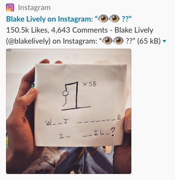Blake Lively Instagram'da Neler Yapıyor?