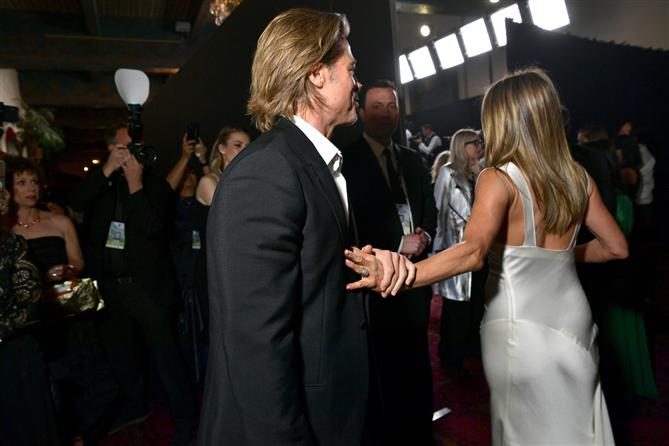 Brad Pitt ve Jennifer Aniston'ın SAG Ödülleri'ndeki Sıcak Anları - Brad Pitt ve Jennifer Aniston'ın SAG Ödülleri'ndeki Sıcak Anları