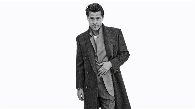 Brad Pitt'ten Brioni Sonbahar 2020 Kampanyası İçin Etkileyici Kareler - Brad Pitt'ten Brioni Sonbahar 2020 Kampanyası İçin Etkileyici Kareler