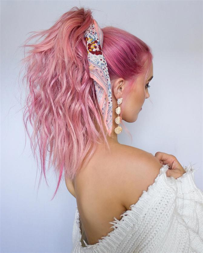Bu Yaz Festival ve Konser Stilinizi Tamamlayacak Saç Modelleri - Bu Yaz Festival ve Konser Stilinizi Tamamlayacak Saç Modelleri