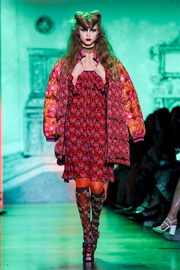Büyüleyici Anna Sui Sonbahar/Kış 2020 Koleksiyonu - Büyüleyici Anna Sui Sonbahar/Kış 2020 Koleksiyonu