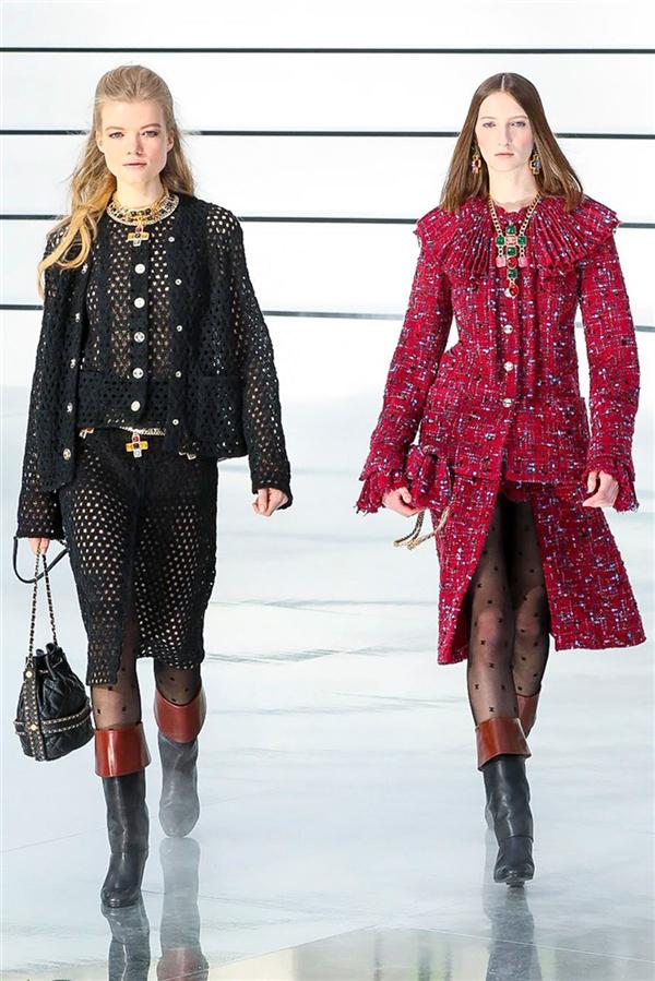 Büyüleyici Chanel Sonbahar/Kış 2020 Koleksiyonu - Büyüleyici Chanel Sonbahar/Kış 2020 Koleksiyonu