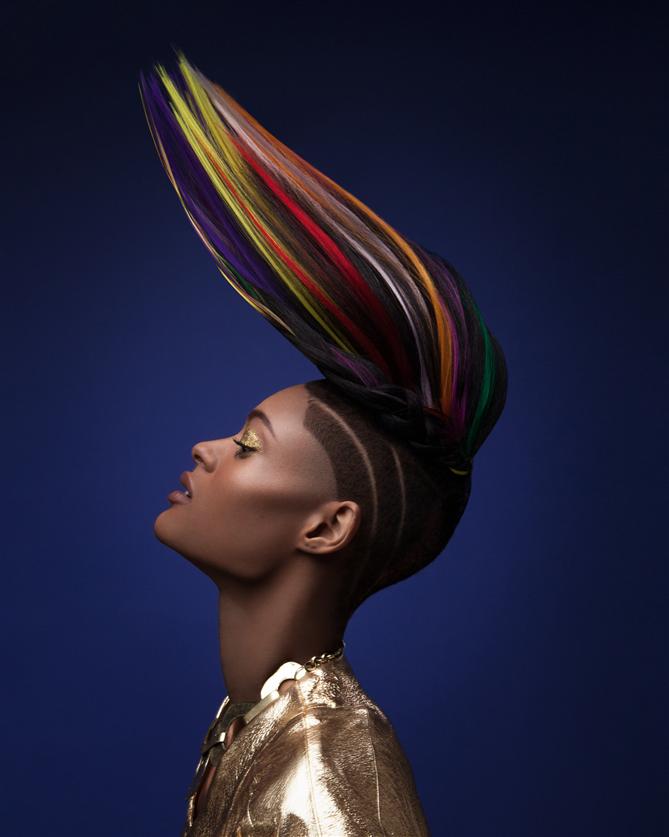 Büyüleyici Renkleriyle Afro Hair Koleksiyonu