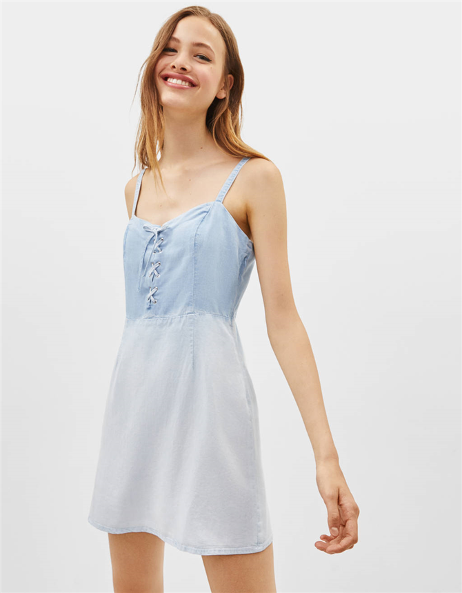 Çabasız Şıklığa Ulaşmanızı Sağlayacak 10 Denim Elbise - Çabasız Şıklığa Ulaşmanızı Sağlayacak 10 Denim Elbise