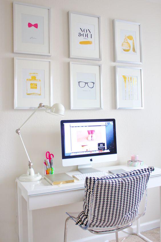 Çalışma Köşenizi Renklendirecek Dekorasyon Fikirleri