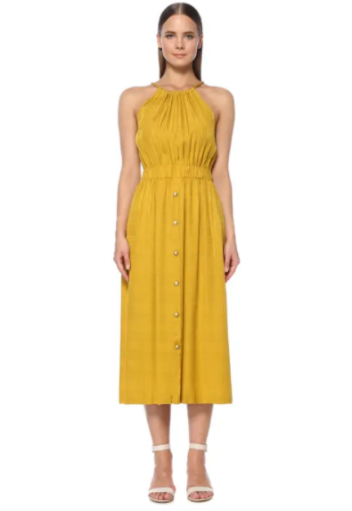 Cindy Crawford'un Sarı Elbisesinden İlhamla Öneriler - Cindy Crawford'un Sarı Elbisesinden İlhamla Öneriler