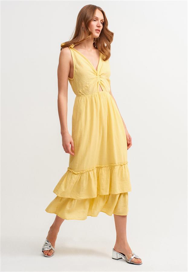 Cindy Crawford'un Sarı Elbisesinden İlhamla Öneriler
